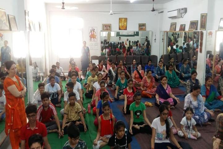 Shiv Jyoti Public School-Yoga