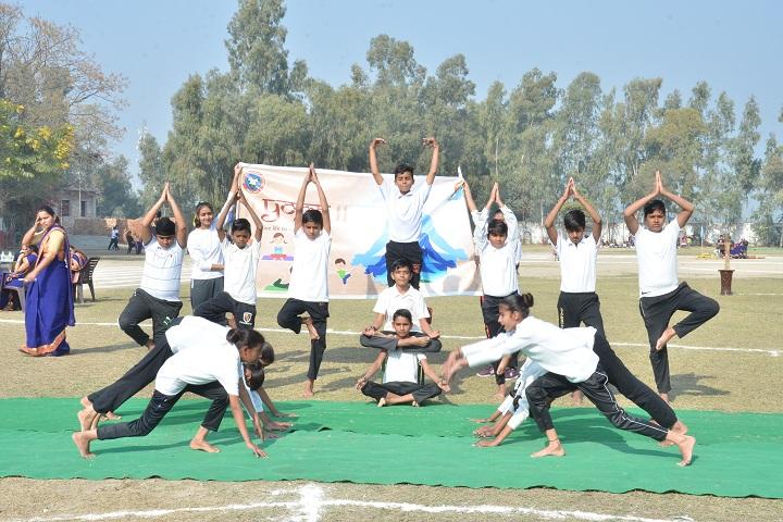 Shivalik Public School-Yoga