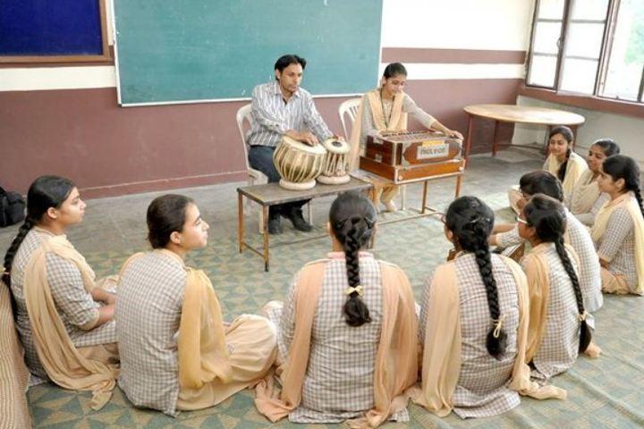 Shiwalik Public School-Music Class