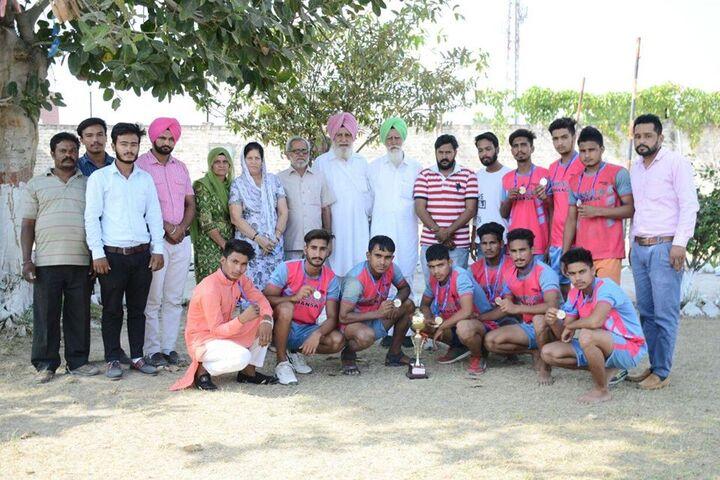 Shri Dashmesh Public Senior Secondary School-Sports Team