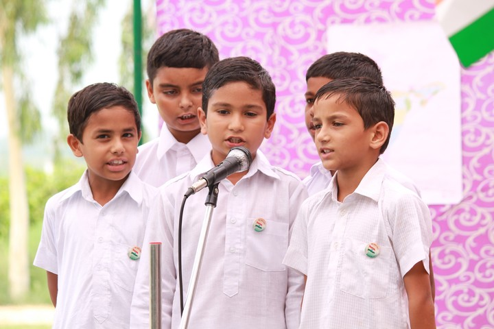 Shri Guru Angad Dev Public School-Singing