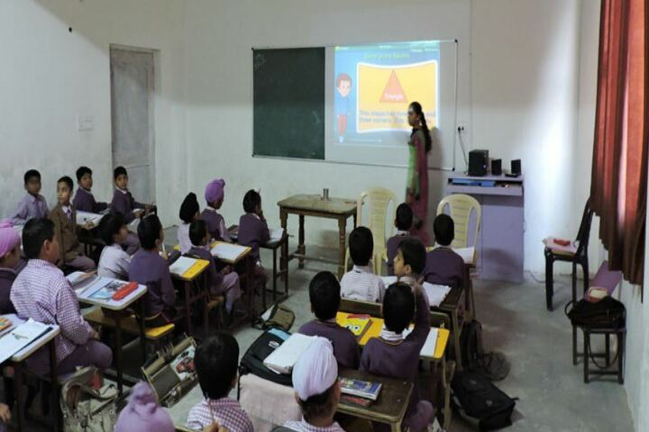 Shri Guru Hargobind Sahib Public School-Digital Class Room