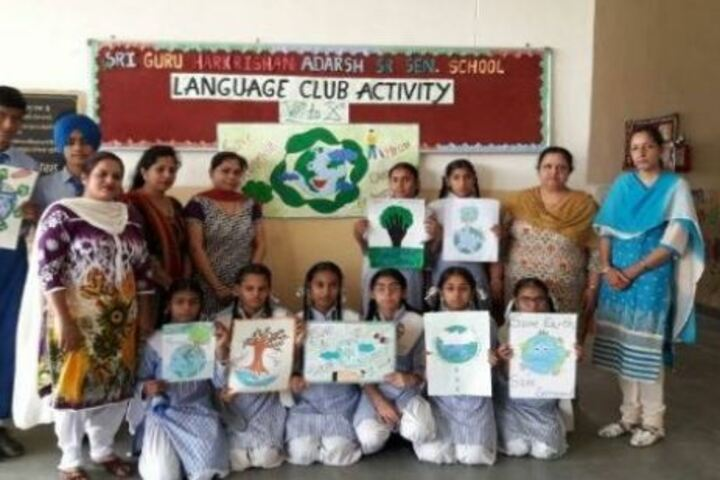 Shri Guru Harkrishan Adarsh Senior Secondary School-Drawing Activity