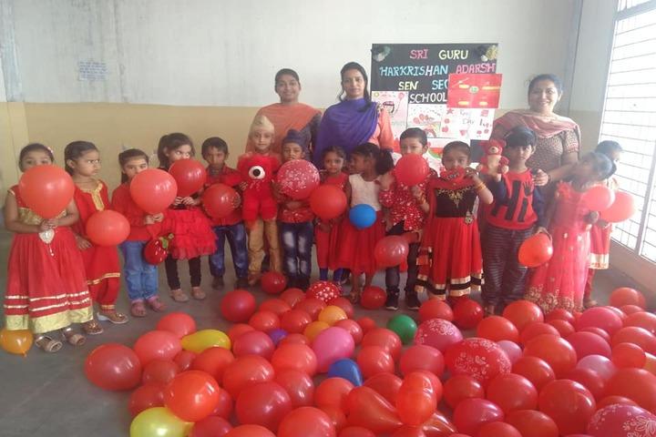 Shri Guru Harkrishan Adarsh Senior Secondary School-Red Day Celebrations