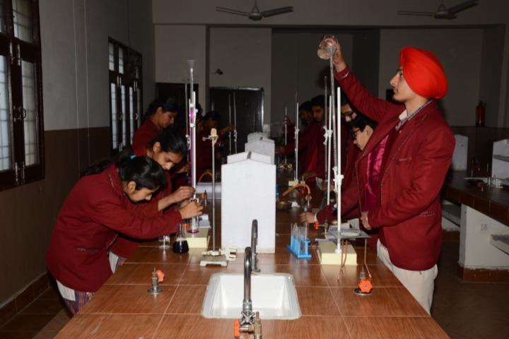 Shri Guru Jambheshwar D A V Senior Secondary Public School-Chemistry Lab