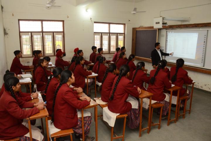 Shri Guru Jambheshwar D A V Senior Secondary Public School-Classroom