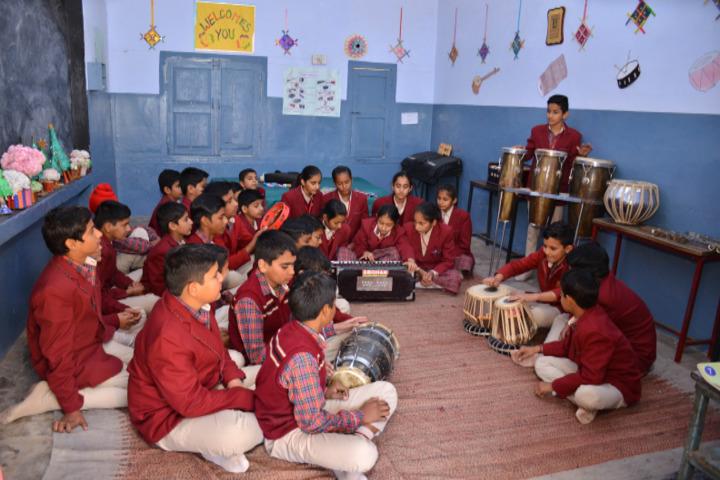 Shri Guru Jambheshwar D A V Senior Secondary Public School-Music Lab