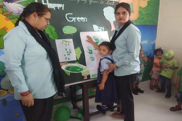 Shri Guru Nanak Dev Public School-Green Day