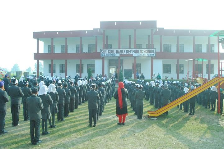 Shri Guru Nanak Dev Public School-Prayer