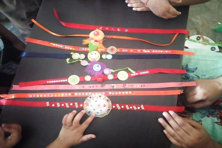 Shri Guru Nanak Dev Public School-Rakhi Making Competition