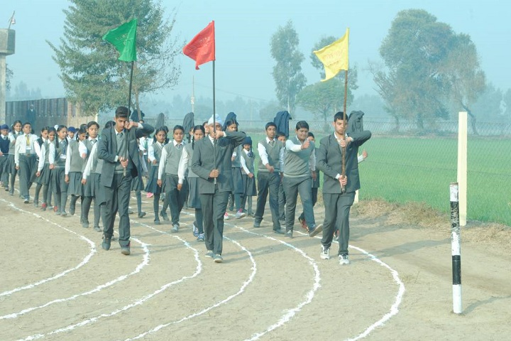 Shri Guru Nanak Dev Public School-Sports Day