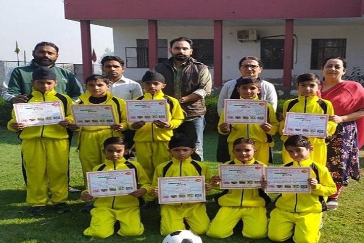 Shri Guru Nanak Dev Public School-Sports Winner