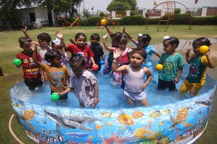 Shri Guru Nanak Dev Public School-Swimming Pool Activity