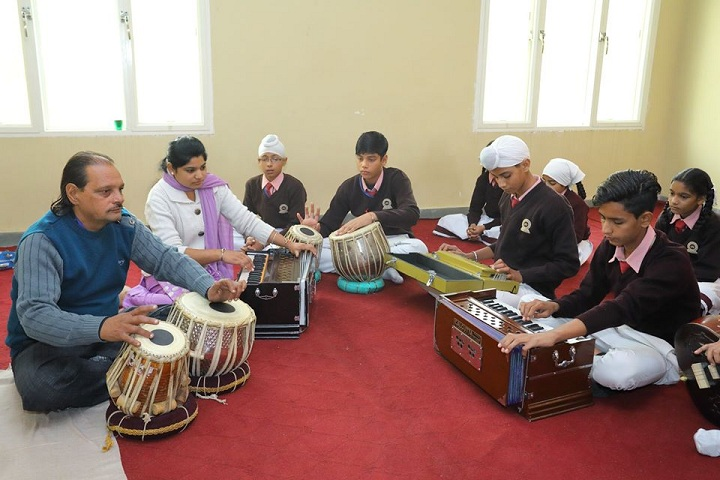 Shri Guru Ravi Dass Public School-Music Room