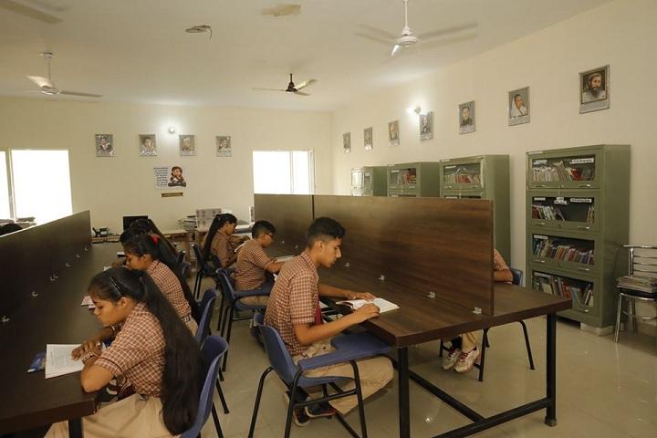 Shri Guru Ravi Dass Public School-Reading Room