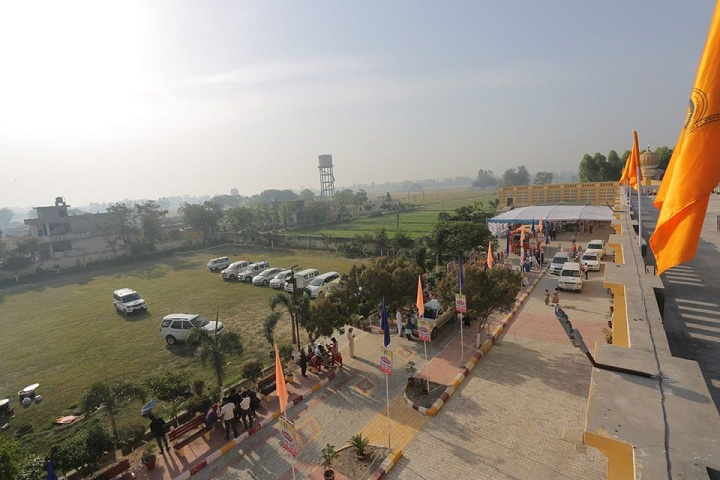 Shri Guru Ravi Dass Public School-School Parking Area