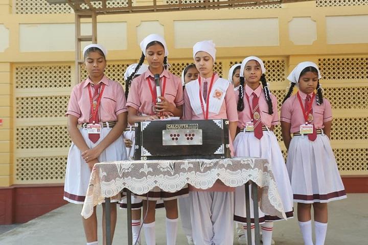 Shri Guru Ravi Dass Public School-Singing