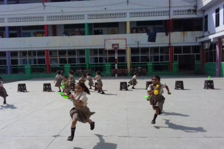 Shri Usha Mata Public School-Runnig Competition