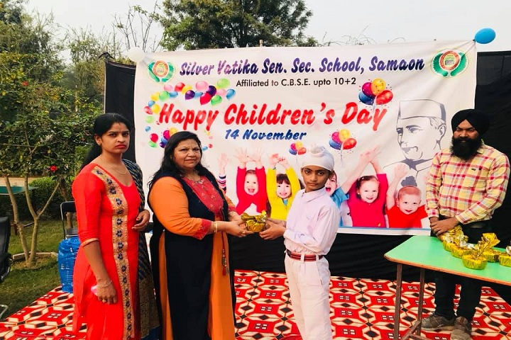 Silver Vatika Public School-childrens day