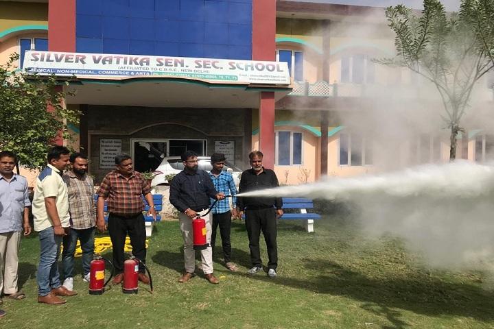 Silver Vatika Public School-safety measures