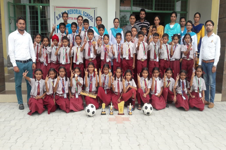 SMMB Memorial School-Faculty with Students