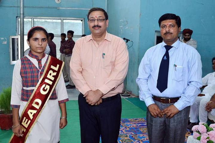 Smt Karam Bai Dav Centenary Public School-Investiture Ceremony