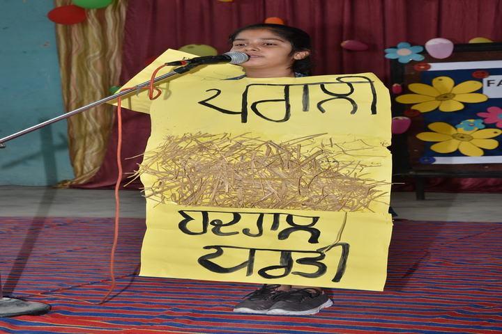 Smt Karam Bai Dav Centenary Public School-Fancy Dress Competition