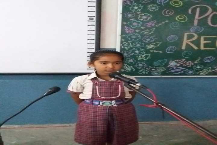 Smt Karam Bai Dav Centenary Public School-Recitation
