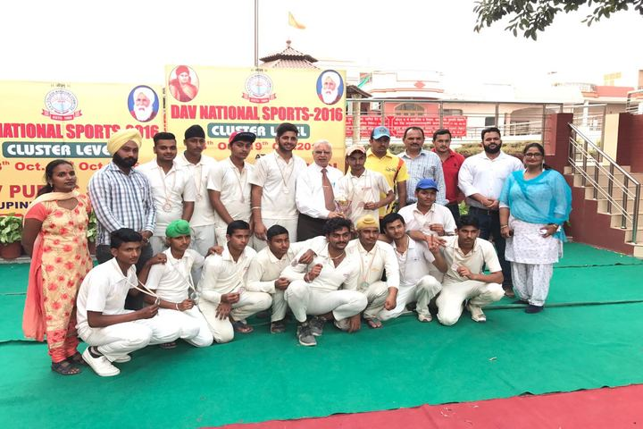 Smt Karam Bai Dav Centenary Public School-Sports