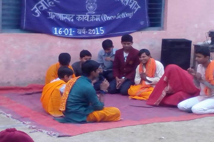Jawahar Navodaya Vidyalaya-Drama Activity