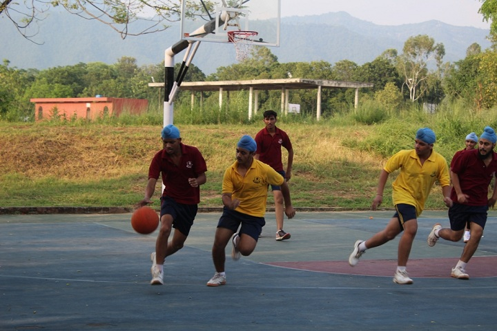 Sri Dasmesh Academy-Basket Ball Ground