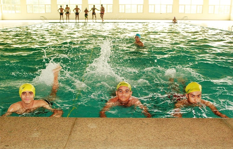 Sri Dasmesh Academy-Swimming Pool