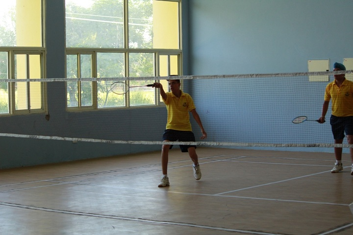 Sri Dasmesh Academy-Tennis Court
