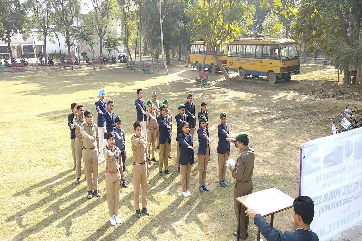 Sri Dasmesh Senior Secondary Public School-NCC