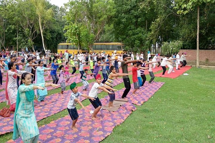 Sri Dasmesh Senior Secondary Public School-Yoga
