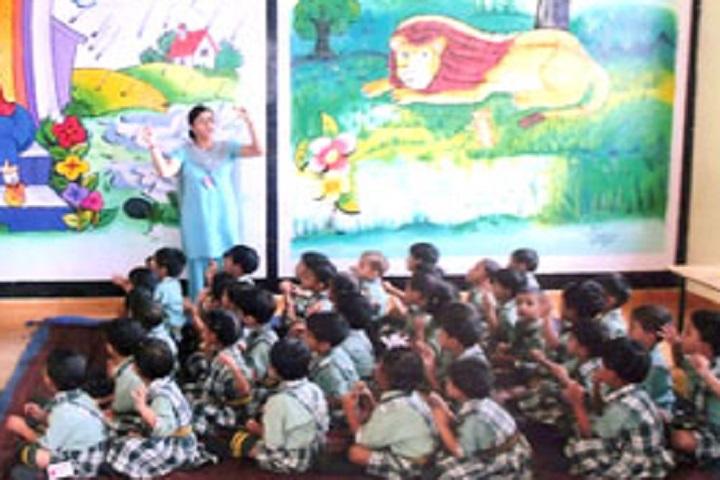 Sri Guru Gobind Singh Public School-Nursery Classroom