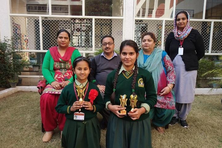 Sri Guru Gobind Singh Public School-Sports Winner