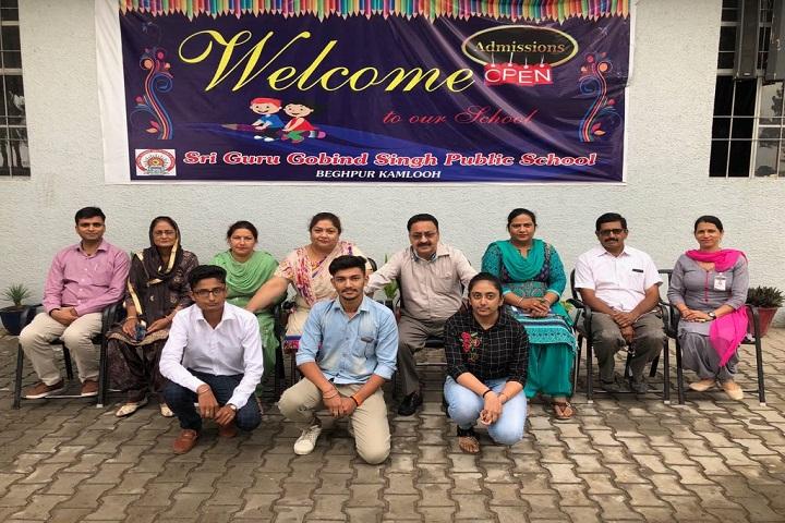 Sri Guru Gobind Singh Public School-Staff