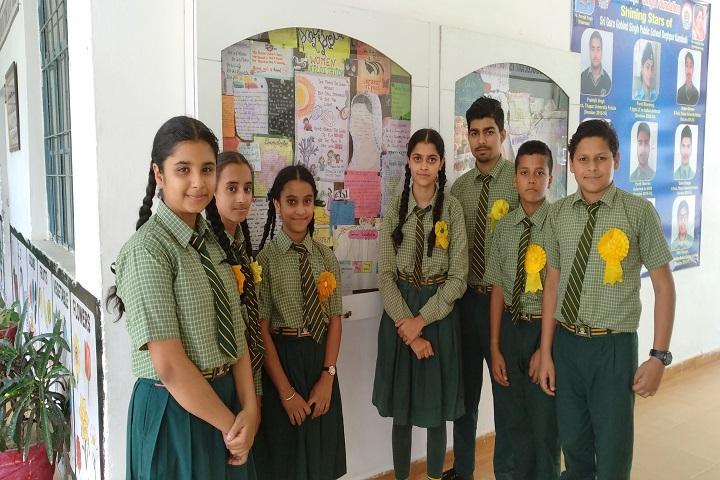 Sri Guru Gobind Singh Public School-Students