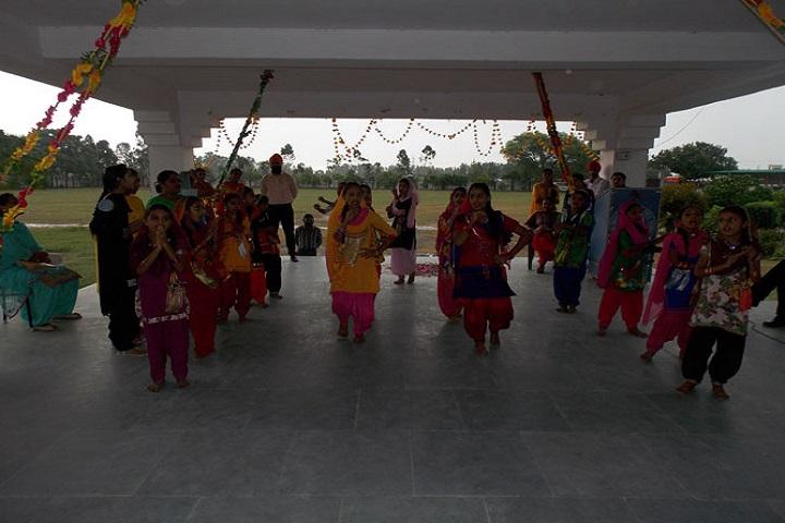Sri Guru Hakrishan Public School-Dance