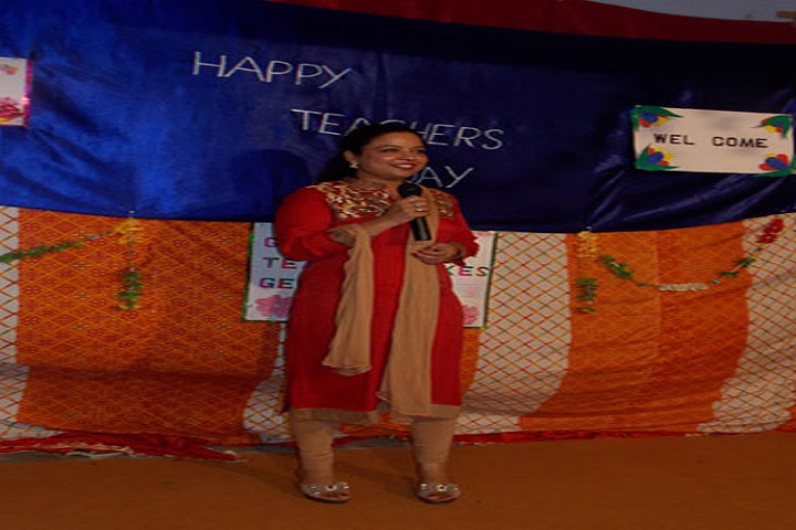 Sri Guru Hakrishan Public School-Speech