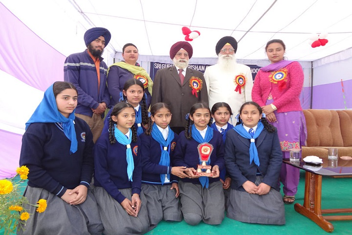 Sri Guru Hakrishan Senior Secondary Public School-Winner