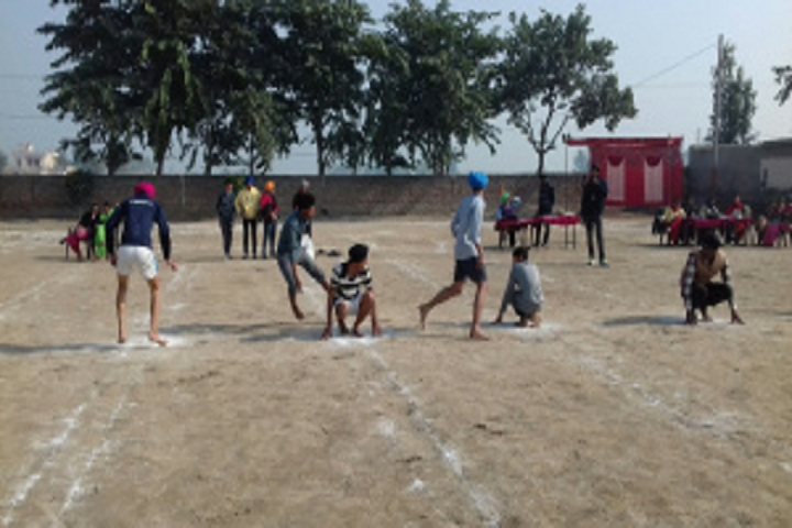 Sri Guru Har Gobind Sahib Senior Secondary School-Play Ground