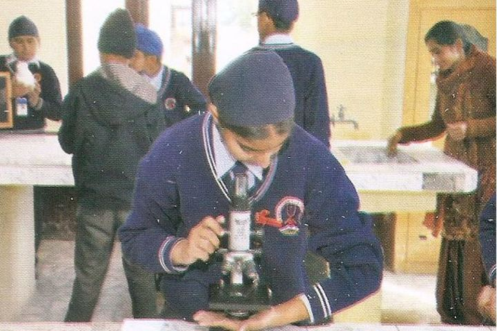 Sri Guru Hargobind Sahib Convent School-Biology Lab