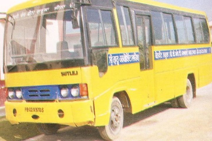Sri Guru Hargobind Sahib Convent School-Bus