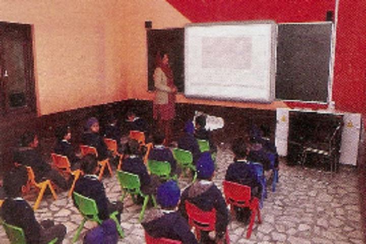 Sri Guru Hargobind Sahib Convent School-Smart Classroom