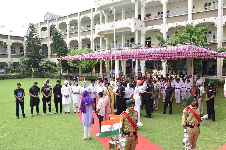 Sri Guru Harkrishan Intl School-Flag Hosting