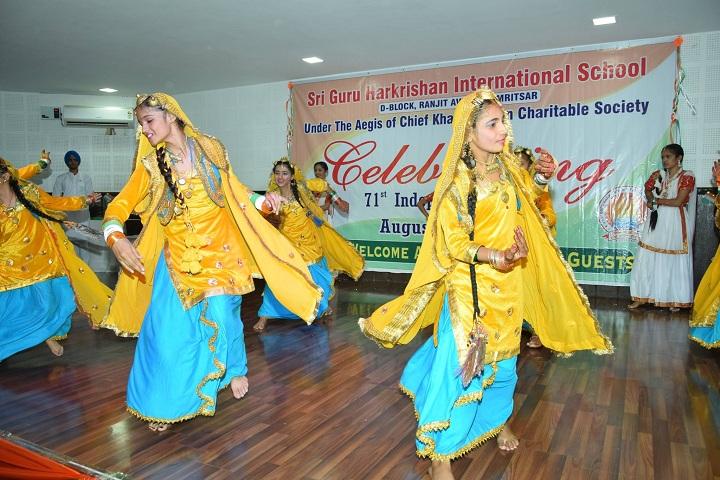 Sri Guru Harkrishan Intl School-Independence Day