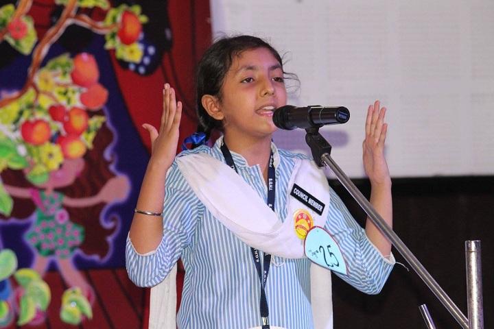 Sri Guru Harkrishan Intl School-Sinning Competition