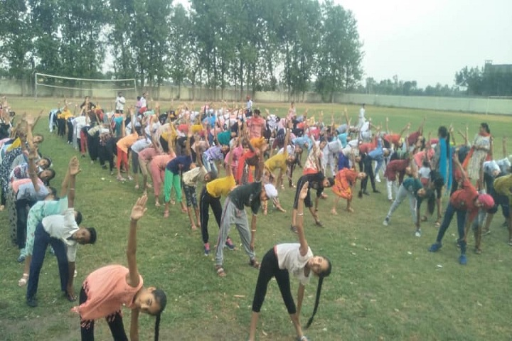 Sri Guru Harkrishan Public School-Yoga